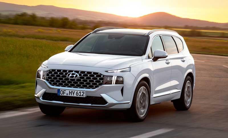 Кроссовер Hyundai Santa Fe 2020-2021