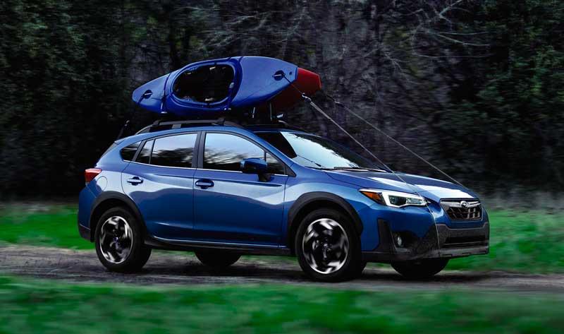 Обновленный Subaru Crosstrek 2021