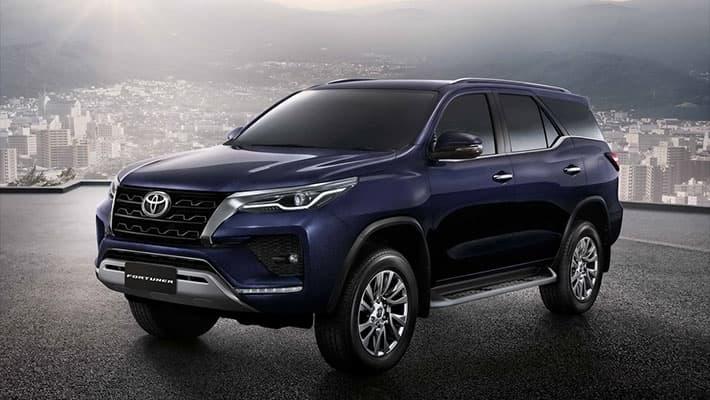 Внедорожник Toyota Fortuner 2020-2021