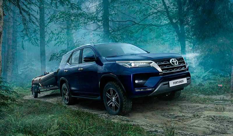 Обновленный внедорожник Toyota Fortuner 2020