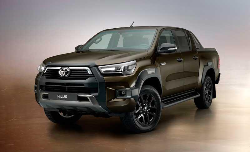 Обновленный пикап Toyota Hilux 2021