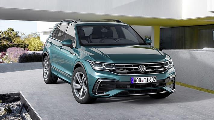 Кроссовер Volkswagen Tiguan 2021