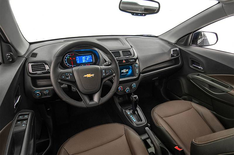 Интерьер New Chevrolet Cobalt 2016-2017