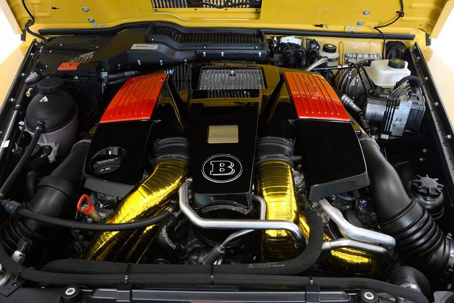 Тюнинг двигателя G63 от Брабус фото