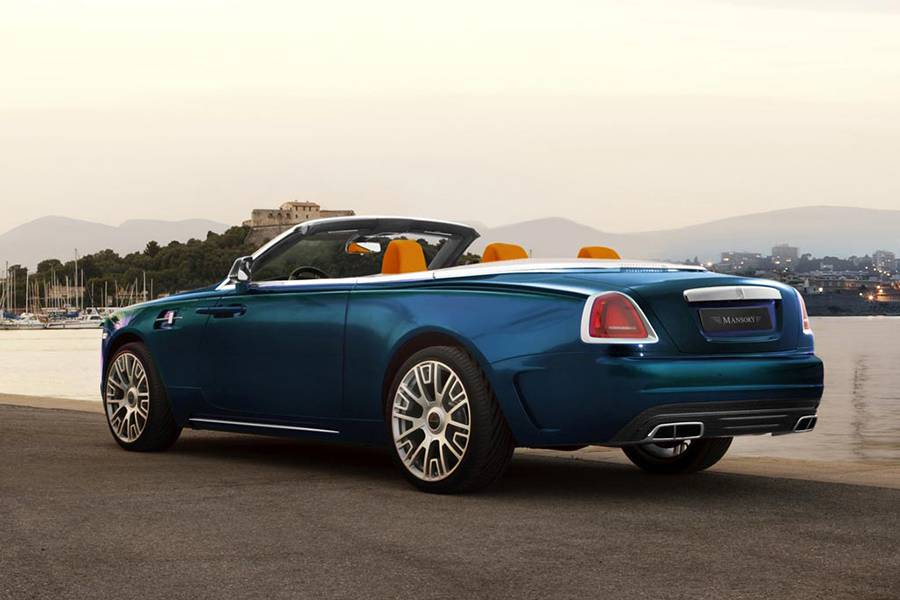 Тюнинг Rolls-Royce Dawn от ателье Mansory фото