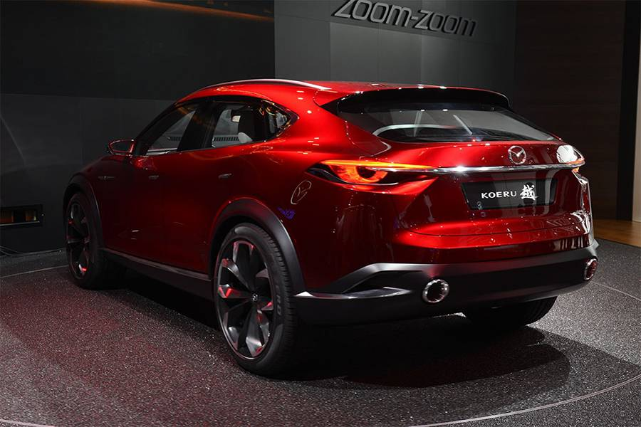 Фото концепт Mazda Koeru