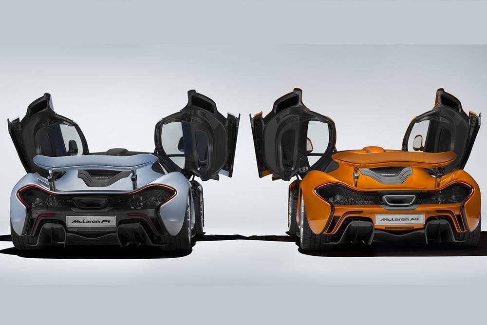 Фото McLaren P1 - первая и последняя модель
