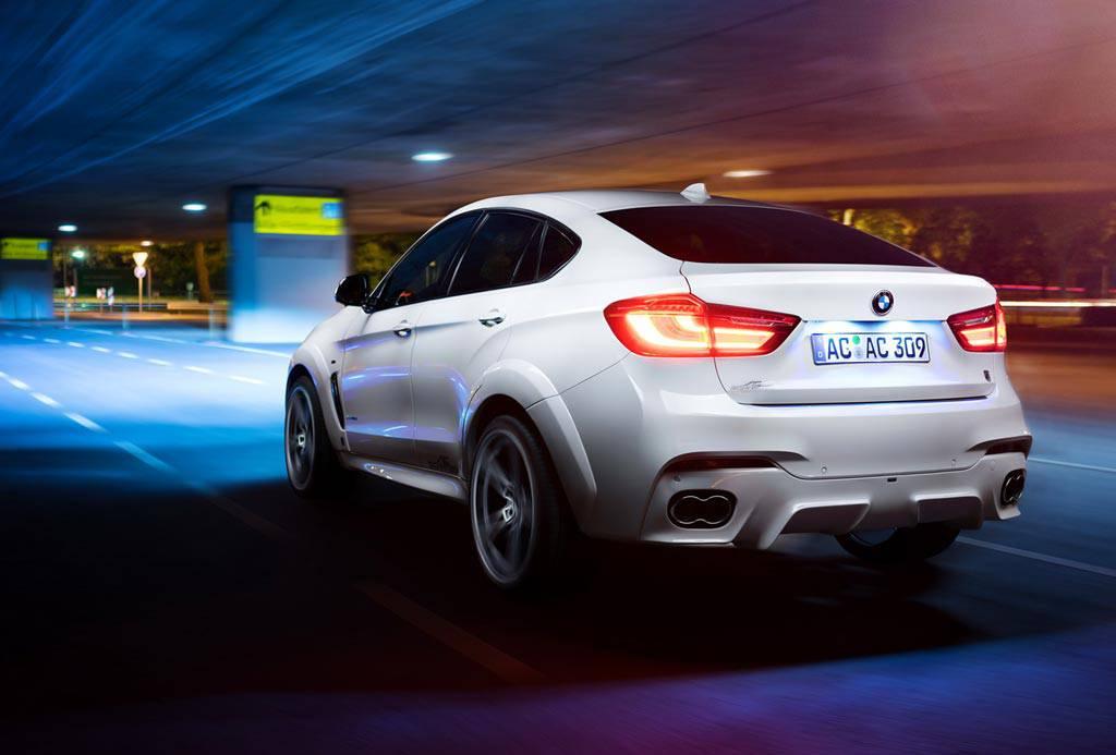 Фото BMW X6 с обвесом от AC Schnitzer