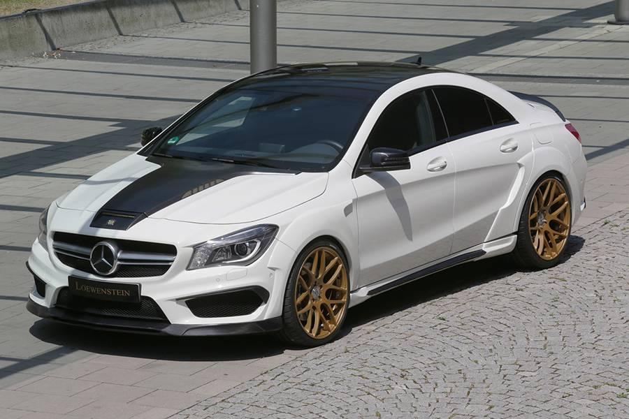 Фото Mercedes CLA 45 AMG от Loewenstein