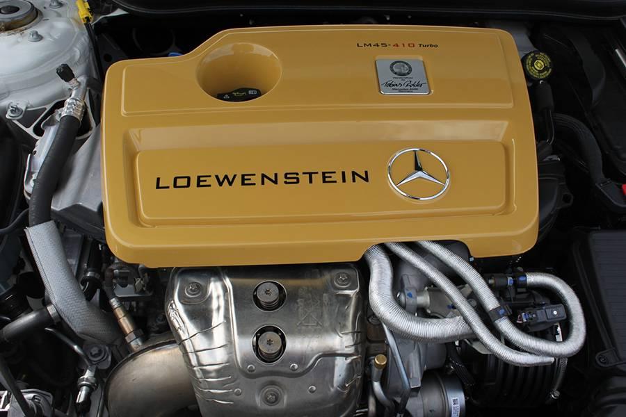 Двигатель Mercedes CLA 45 AMG от Loewenstein