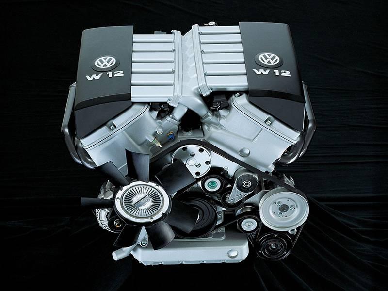 Фото двигателя Volkswagen W12