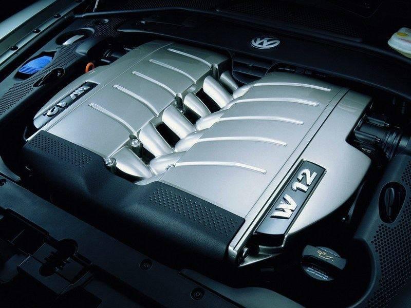 Volkswagen с двигателем W12