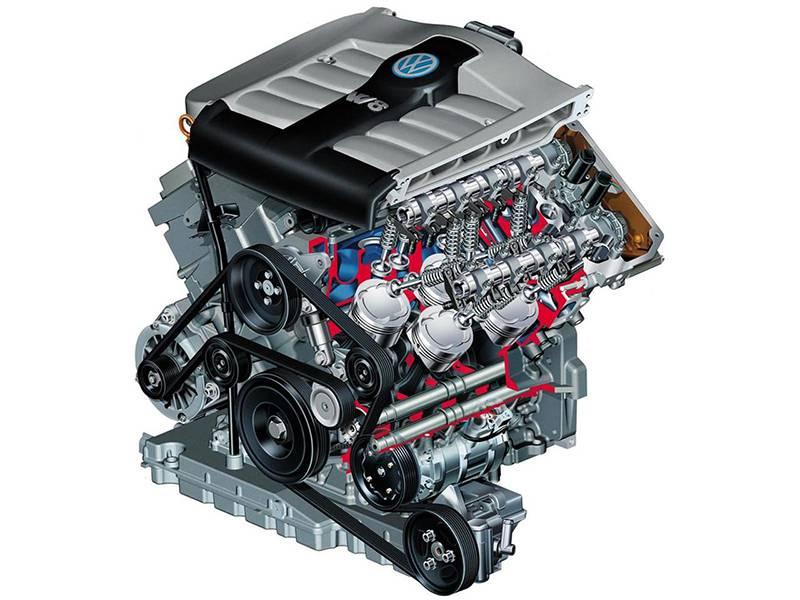 Фото двигателя Volkswagen W8