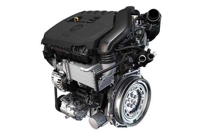 Двигатель VW EA211 TSI evo