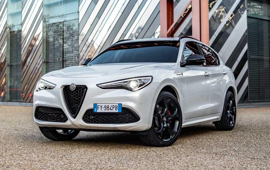 Кроссовер Alfa Romeo Stelvio Veloce Ti 2021