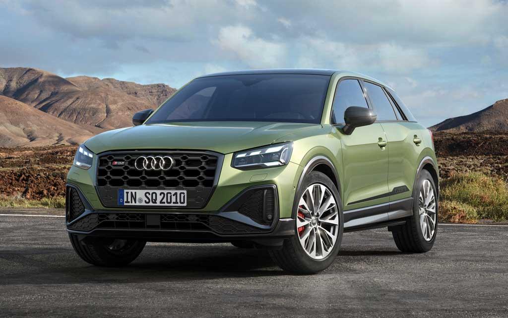 Кроссовер Audi SQ2 2021