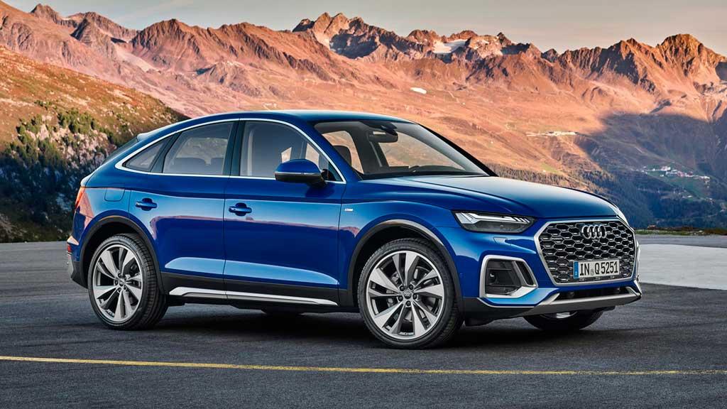 Кросс-купе Audi Q5 Sportback 2021