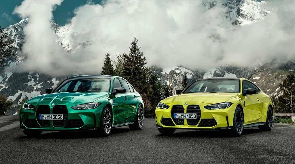 Седан и купе BMW M3 и BMW M4 2021