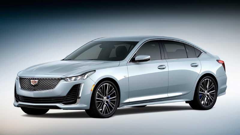 Обновленные седаны Cadillac CT4 и CT5 2021 года