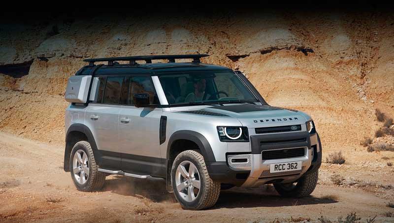 Внедорожник Land Rover Defender 2020-2021 с ценой в России