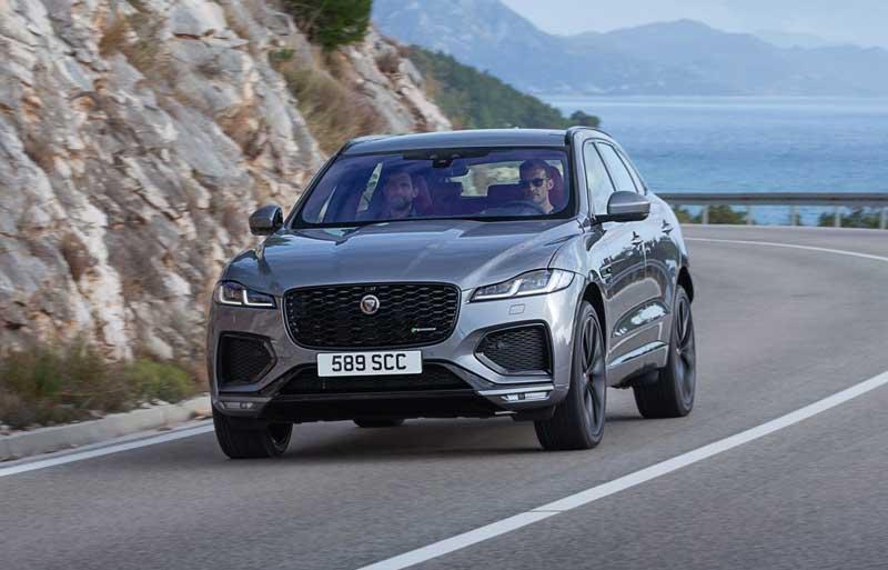 Обновленный кроссовер Jaguar F-Pace 2021