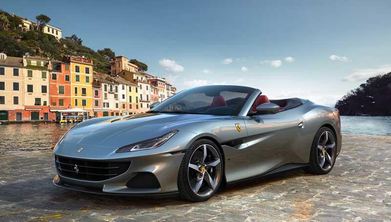 Кабриолет Ferrari Portofino M 2021