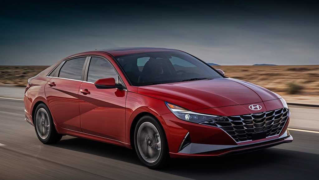 Седан Hyundai Elantra 7 поколения для России