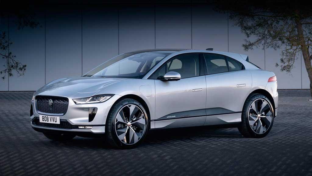 Электрический кроссовер Jaguar I-Pace 2021