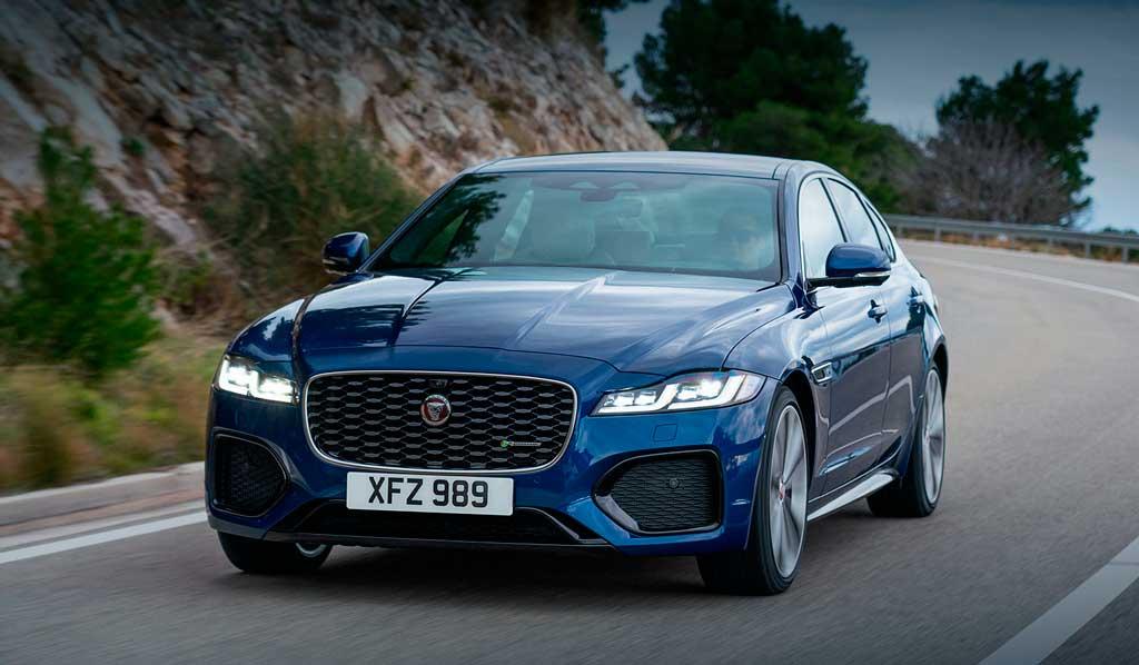 Обновленный седан Jaguar XF 2021