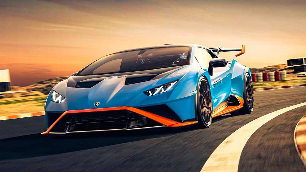 Купе Lamborghini Huracan STO 2021