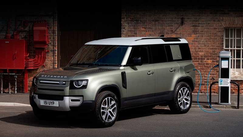 Внедорожник Land Rover Defender 2021