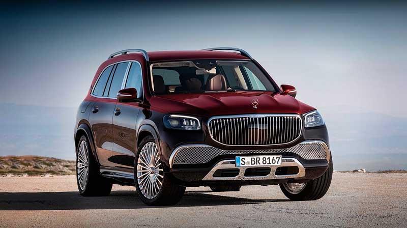 Внедорожник Mercedes-Maybach GLS 600 с ценой в России