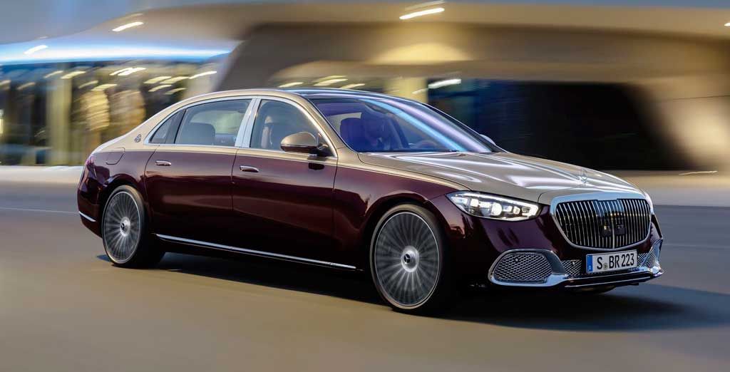Седан Mercedes-Maybach S-Class 2021
