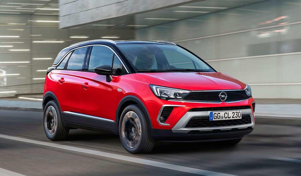 Компактный паркетник Opel Crossland 2021