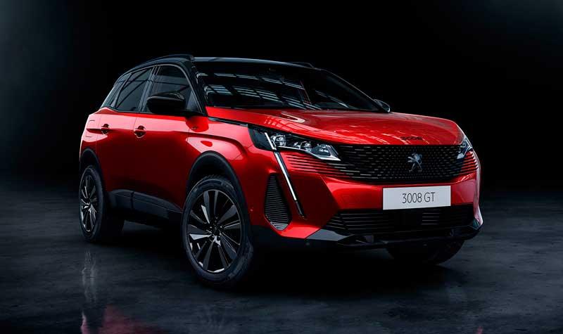 Кроссовер Peugeot 3008 второго поколения 2021 года