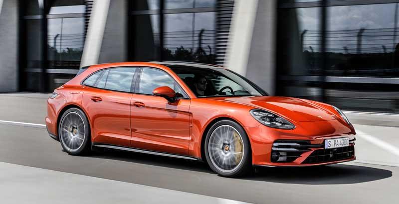 Обновленная Porsche Panamera 2021