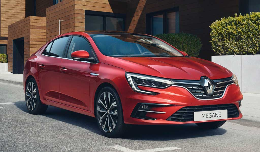 Седан Renault Megane 2021