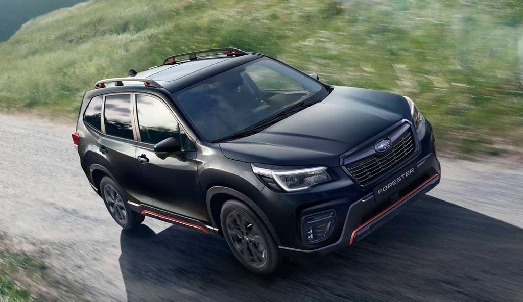 Кроссовер Subaru Forester 2021