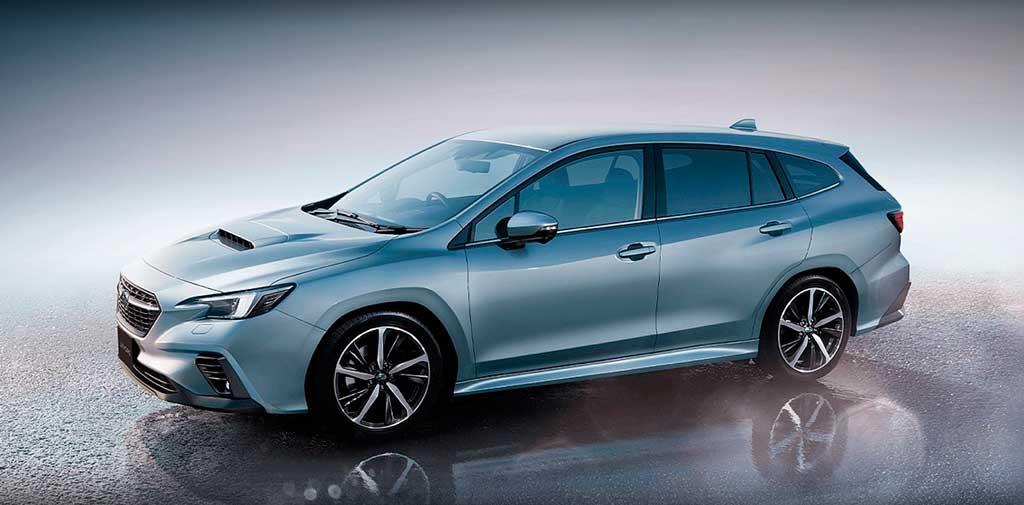 Универсал Subaru Levorg 2021 нового поколения