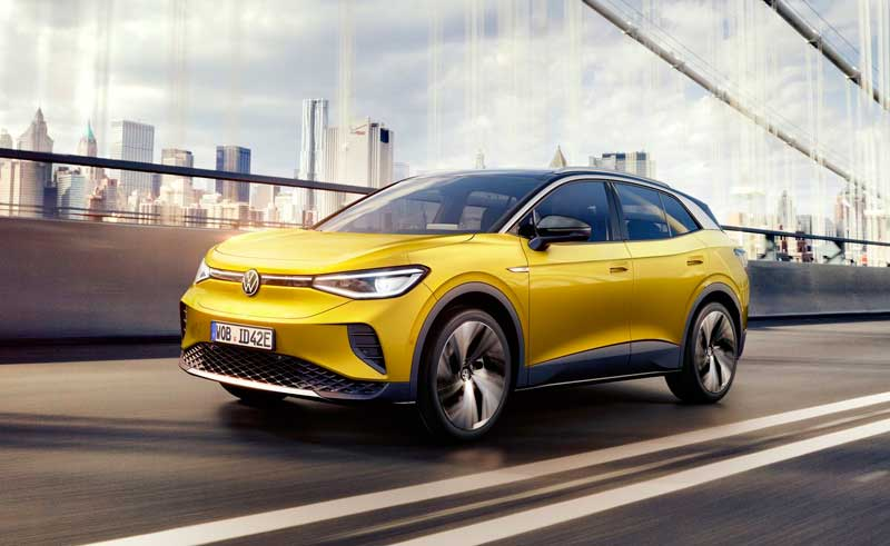 Электрический кроссовер Volkswagen ID.4 2021