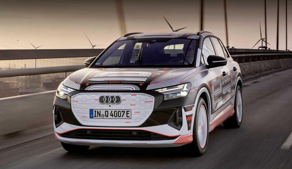 Электрический кроссовер Audi Q4 e-tron 2022