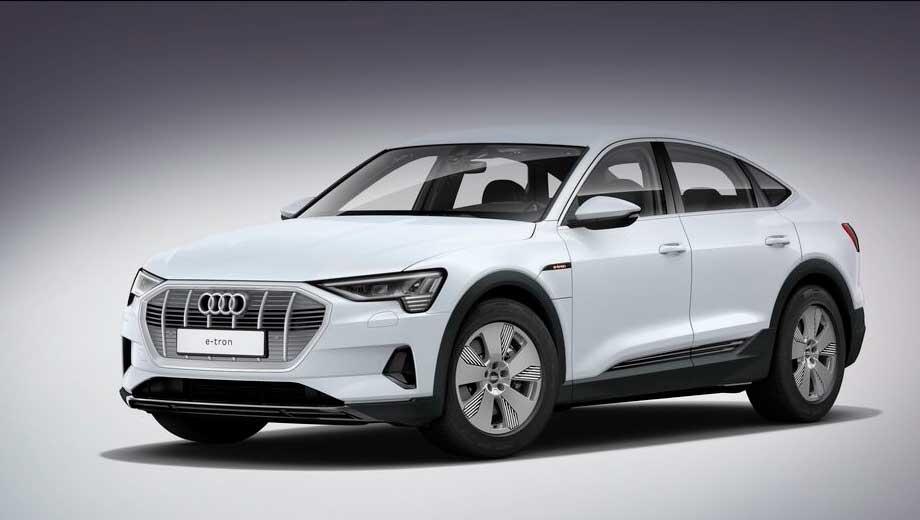 Электрокар Audi e-tron Sportback