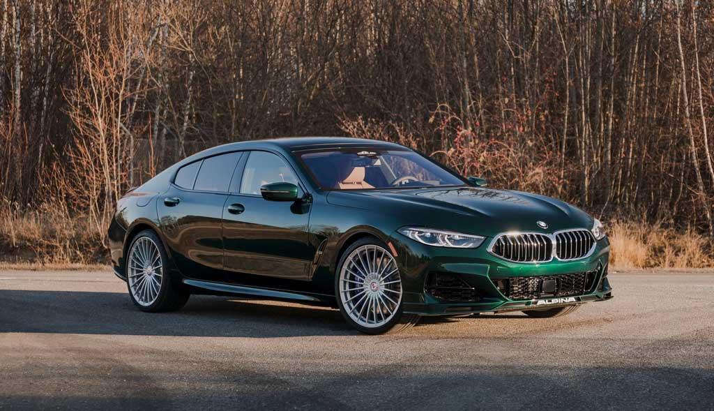Новый Седан BMW Alpina B8 Gran Coupe 2022