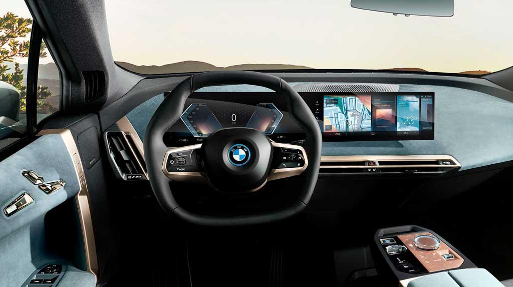 Продвинутый комплекс iDrive 8 от BMW