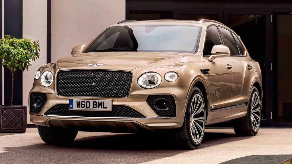Гибридный кроссовер Bentley Bentayga Hybrid 2021