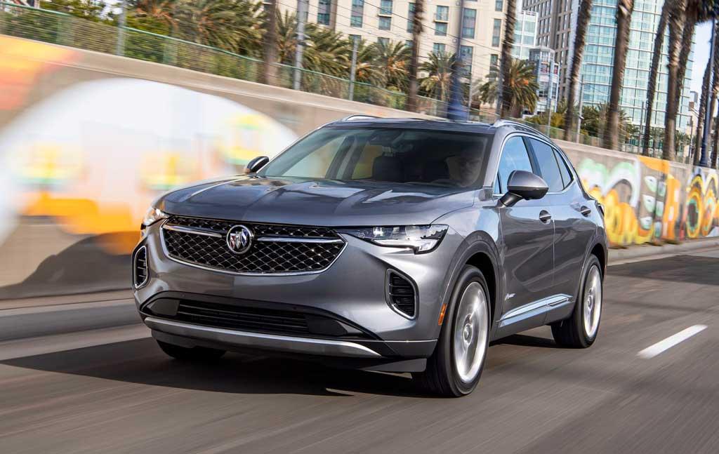 Кроссовер Buick Envision 2021 новой генерации