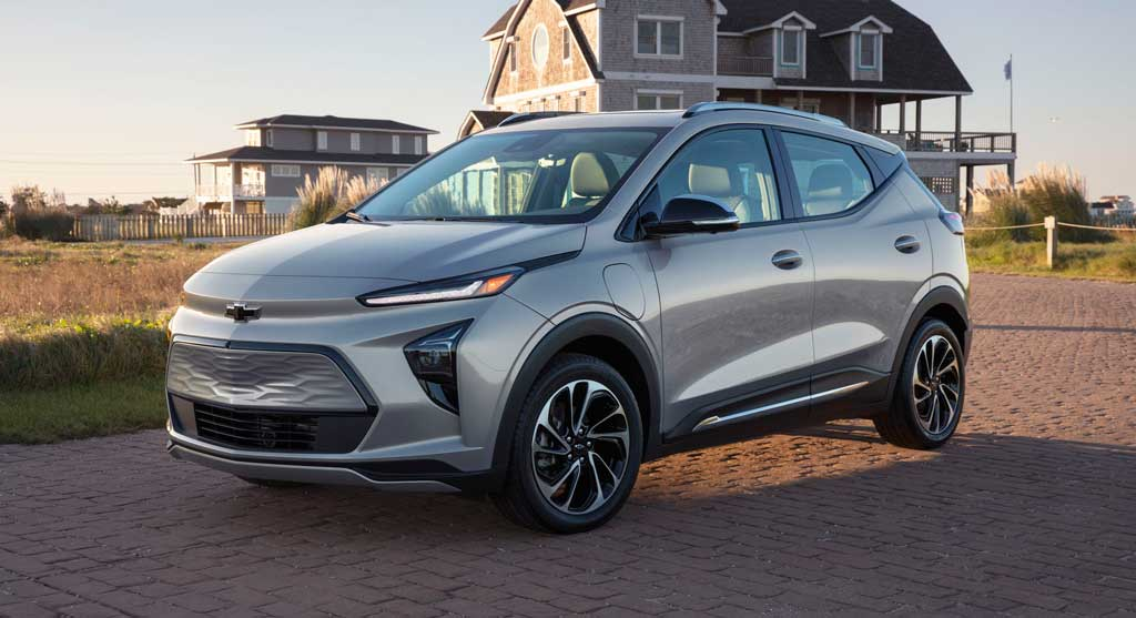 Электрический паркетник Chevrolet Bolt EUV 2022