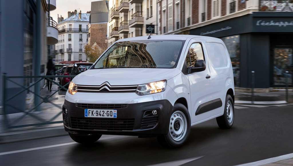 Электрический фургон Citroën ë-Berlingo 2021