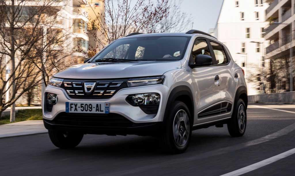 Электрический хэтчбек Dacia Spring Electric 2021