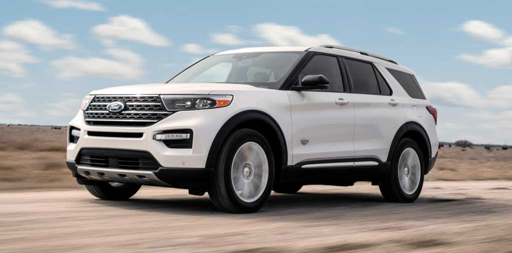 Кроссовер Ford Explorer King Ranch 2021